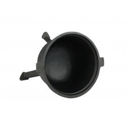 Kociołek myśliwski żeliwny - garnek myśliwski na ognisko – 8L