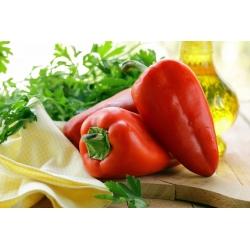 Papryka słodka Mercedes - czerwona, średniowczesna, z dużą zawartością witaminy C - 70 nasion