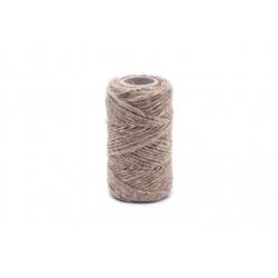Sznurek konopny - naturalny - 100g/40m