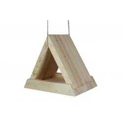 Karmnik dla ptaków - trójkątny - surowy