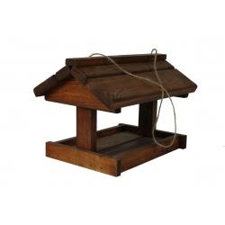 Karmnik dla ptaków - duży - brązowy