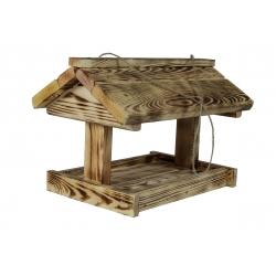 Karmnik dla ptaków - duży - opalany