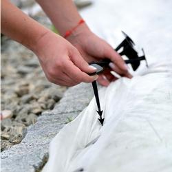 Szpilki do mocowania agrowłókniny, obrzeża trawnikowego i siatki - 12 cm - 50 szt.