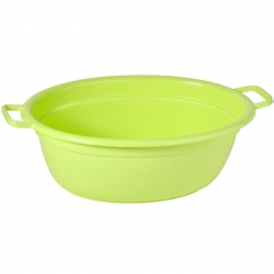 Wanna owalna na pranie - 75 cm długości - zielona