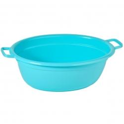 Wanna owalna na pranie - 55 cm długości - niebieska