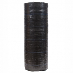 Agrotkanina czarna na chwasty - grubsza niż agrowłóknina - 1,60 x 10,00 m