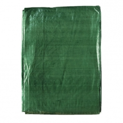 Plandeka - 6 x 12 m - zielona