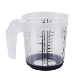 Kubek z miarką i funkcją antypoślizgową - Massimo - 1 litr