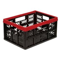 Kosz składany - Klappbox - 32 litry - czerwony