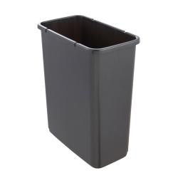 Kosz na śmieci z naciskaną pokrywą - Magne - 10 litrów - niebieski