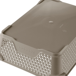 Koszyk do przechowywania A5 - szarobrązowy