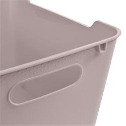 Pojemnik do przechowywania - Lotta - 12 litrów - miejski szary