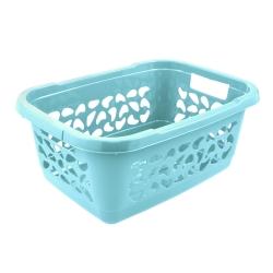 Kosz na pranie - Jost - 55 x 40 cm - wodny niebieski