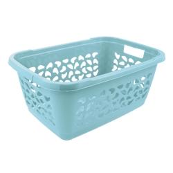 Kosz na pranie - Jost - 65 x 44 cm - wodny niebieski