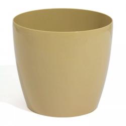 Doniczka Coubi Duo śr. 12 cm - Kawa z mlekiem