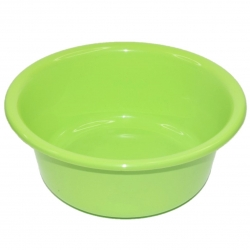 Miska okrągła - śr. 20 cm - zielona
