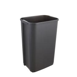 Kosz na śmieci z odchylaną pokrywą - Rasmus - 50 litrów - grafitowy