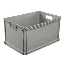 Pojemnik transportowy - Robert - 64 litrów - jasnopopielaty