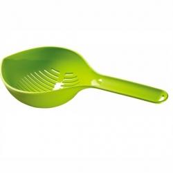 Cedzak z rączką - zielony
