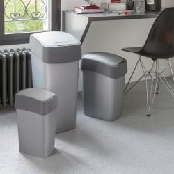 Kosz do sortowania śmieci Flip Bin - 10 litrów - szary