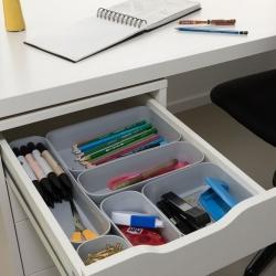 Organizer do szuflady - Infinity L - 1 litr - jasny szary