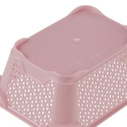 Koszyk do przechowywania A7 - perłowy róż