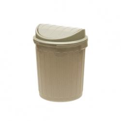 Pojemnik na śmieci - Mini-Swing - 7 litrów - beżowy