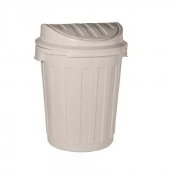 Pojemnik na śmieci - Maxi-Swing - 23 litry - jasnosrebrny