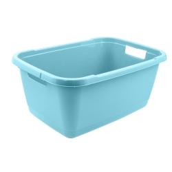 Wanna na pranie - Aenna - 55 x 40 cm - wodny niebieski