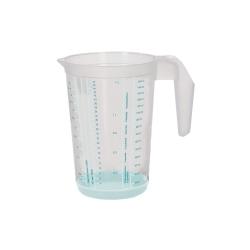 Kubek z miarką i funkcją antypoślizgową - Massimo - 1,5 litra - seledynowy