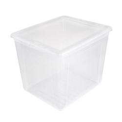 Pojemnik z pokrywą - Bea - 30 litrów - transparentny