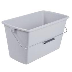 Wiadro prostokątne - 13 litrów - marmur