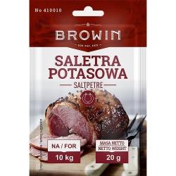 Saletra potasowa - do peklowania wieprzowiny, wołowiny i cielęciny - 20 g