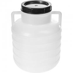 Beczka z uchwytami na kapustę i ogórki - 5 litrów