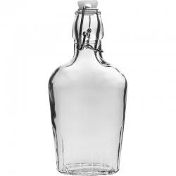 Piersiówka z zamkiem hermetycznym - 250 ml