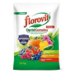 Nawóz uniwersalny do zasilania wszystkich roślin - Ogród Complex - Florovit - 15 kg