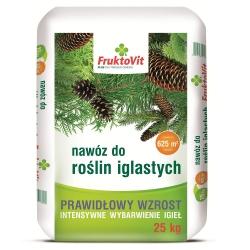 Nawóz do iglaków - prawidłowy wzrost, intensywne wybarwienie - Fruktovit - 25 kg