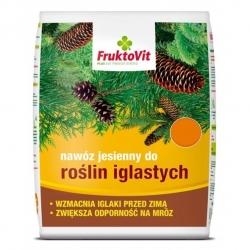 Nawóz jesienny do iglaków - Fruktovit - 25 kg