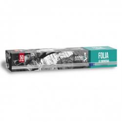 Folia aluminiowa z ucinarką - 50 m
