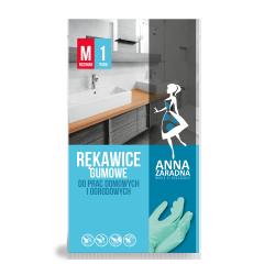 Rękawice gumowe - do prac domowych i ogrodowych - rozmiar M