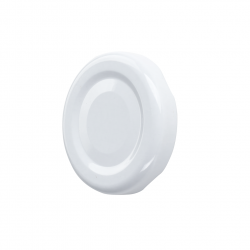 Słoje zakręcane szklane, słoiki - fi 82 - 540 ml + zakrętki białe - 8 szt.