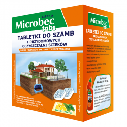 Bros - Microbec Ultra - Preparat do szamb - DUŻA paczka - 20 tabletek