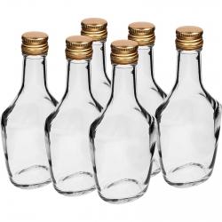 Butelka Bosmańska - biała - 250 ml - 6 szt.