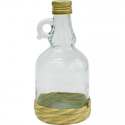 Butelka Gallone w oplocie z zakrętką - 500 ml
