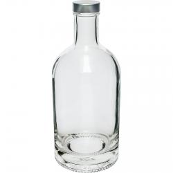 Butelka Miss Barku z zakrętką - biała - 700 ml