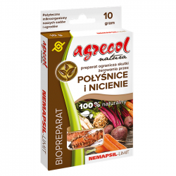 EKO Nemapsil-Limit - naturalny preparat ograniczający żerowanie połyśnic i nicieni na warzywach - Agrecol - 10 g