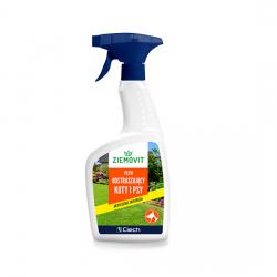 Płyn odstraszający koty i psy - skutecznie zniechęca - Ziemovit - 500 ml