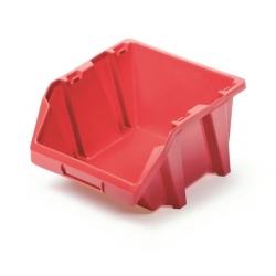 Skrzynka narzędziowa, kuweta warsztatowa - Bineer Short - 11,8 x 14,4 cm - czerwony