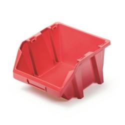 Skrzynka narzędziowa, kuweta warsztatowa - Bineer Short - 15,8 x 18,7 cm - czerwony