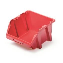 Skrzynka narzędziowa, kuweta warsztatowa - Bineer Short - 7,7 x 9,2 cm - czerwony